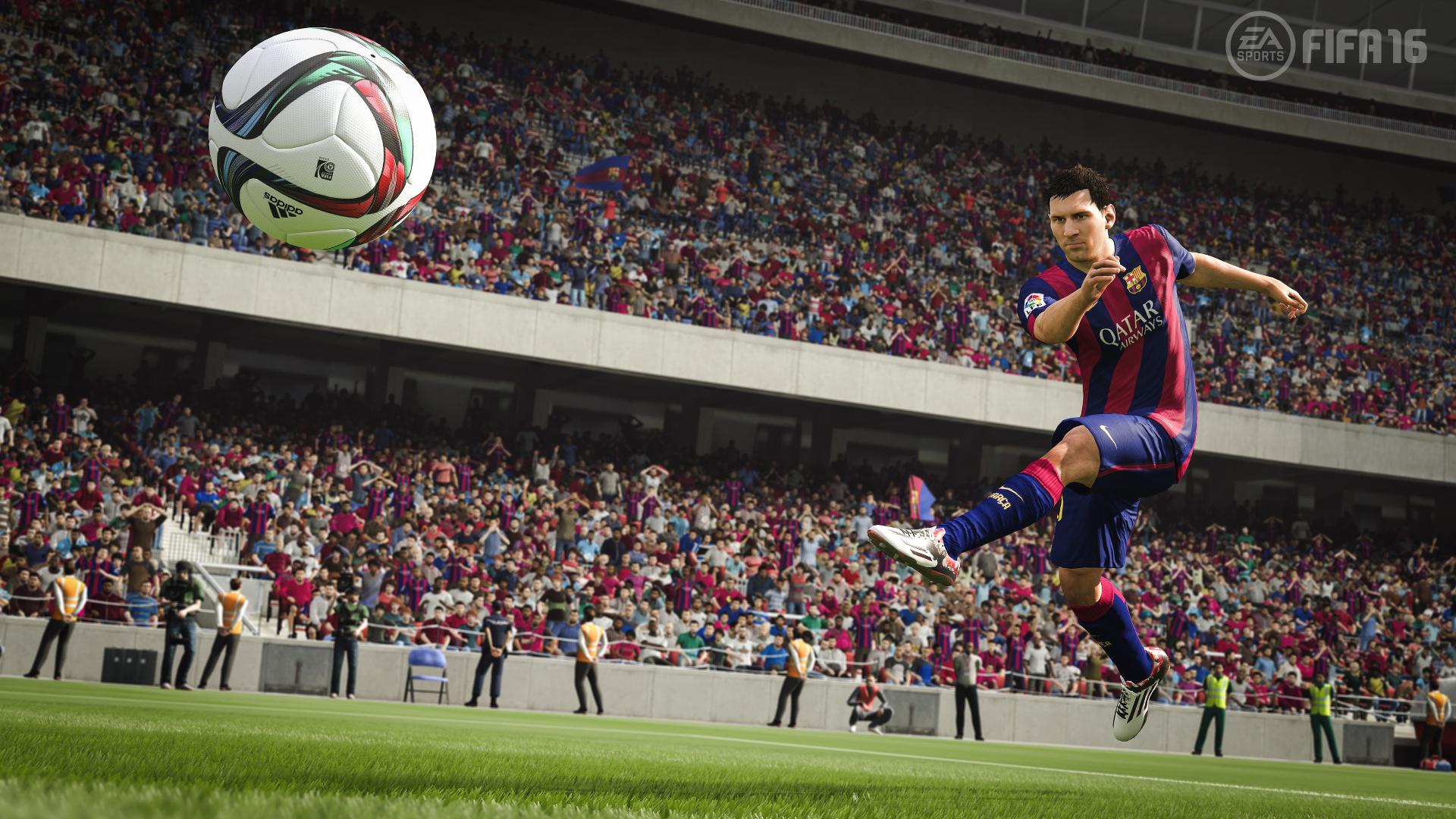 Fifa 16 - Messi - Screenshot Full HD - 1920x1080
