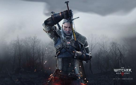 The Witcher 3 - Wallpaper Full HD - Geralt e Espada - 1920x1200