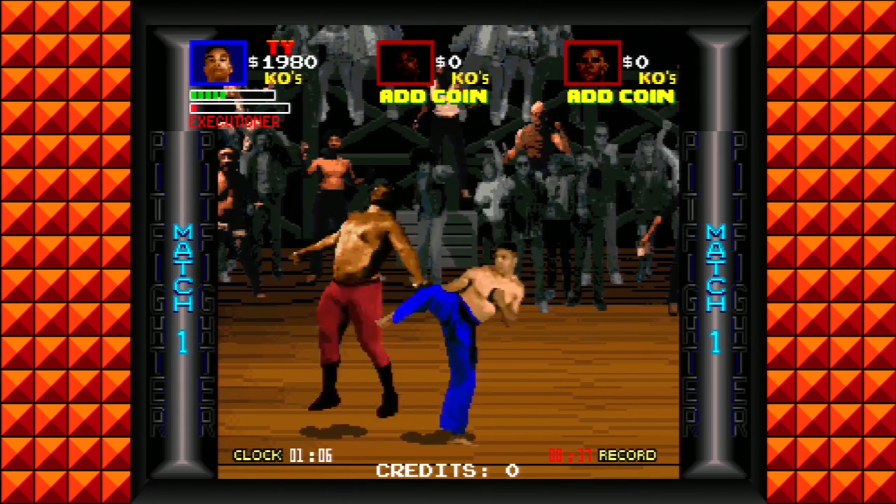 Pit Fighter - Screen