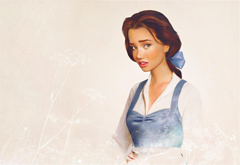 Bella - A Fera e a Bela - Arte Realista