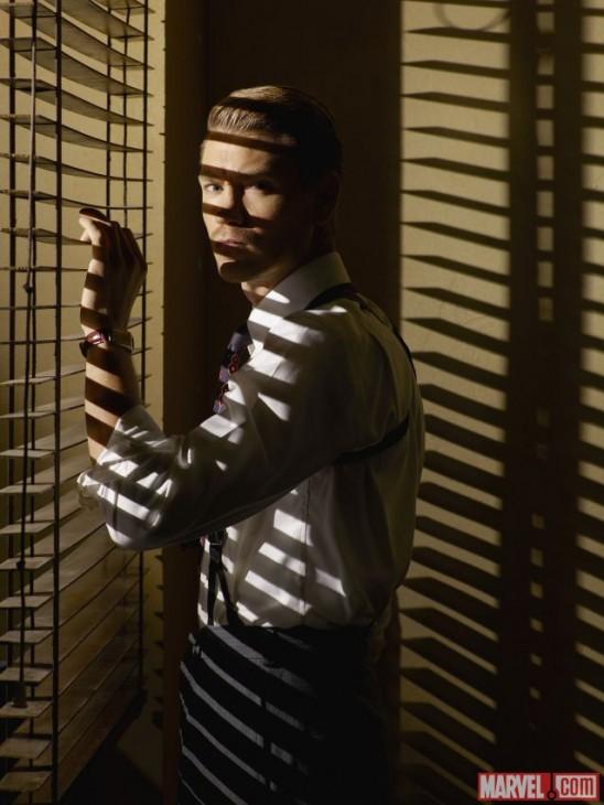 Chad Michael Murray como Jack Thompson na série da Agente Carter