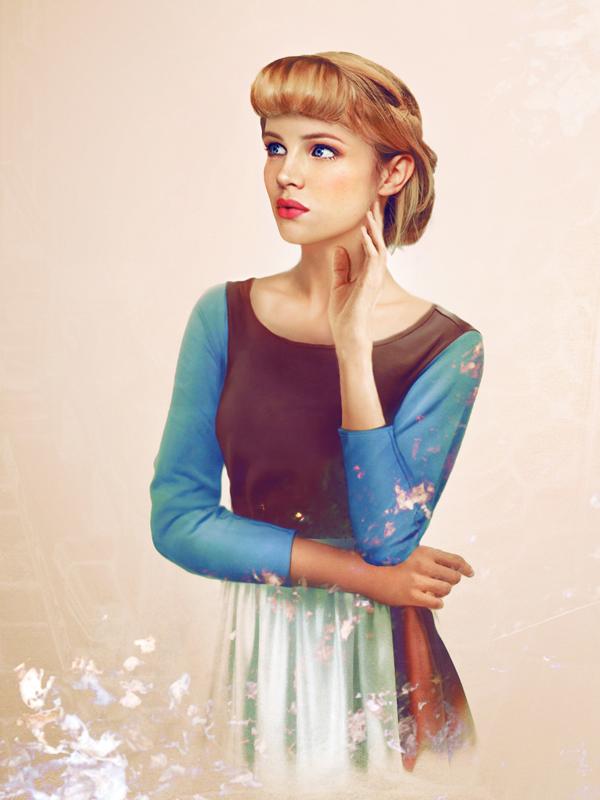 Cinderella - Arte Realista - Disney
