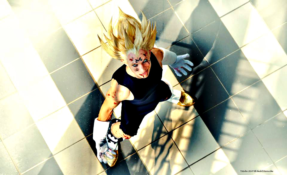 Cosplay do Majin Vegeta - Super Sayajin 2 - Por Alex Gaiati - 01