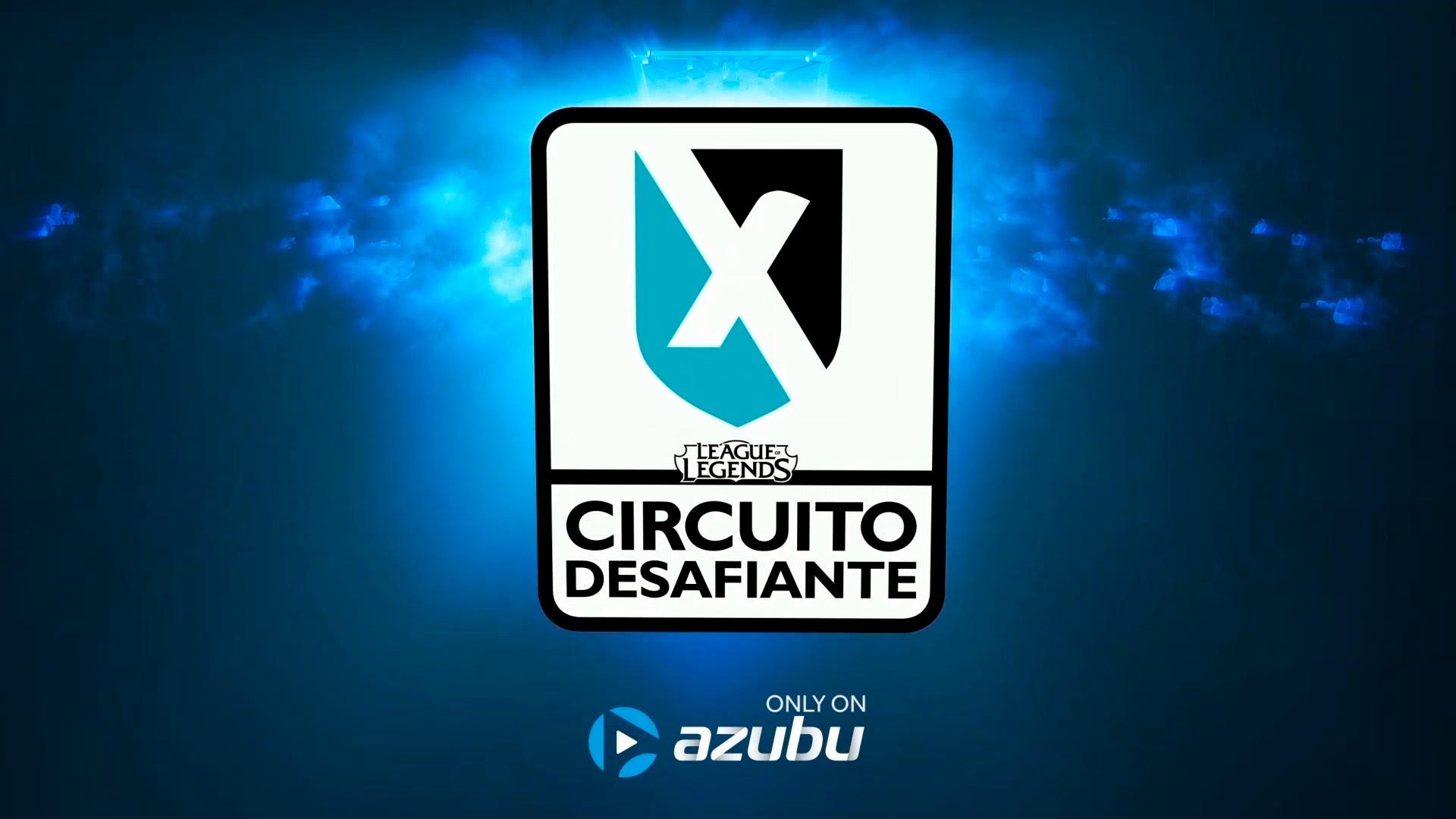 League of Legends - Circuito Desafiante 2016 - Banner Logo Azubu