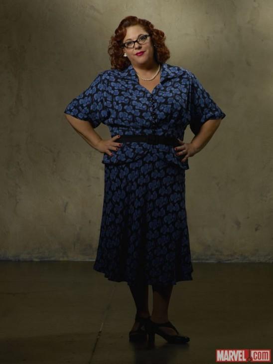 Lesley Boone no papel de Rose Roberts na série da Agent Carter