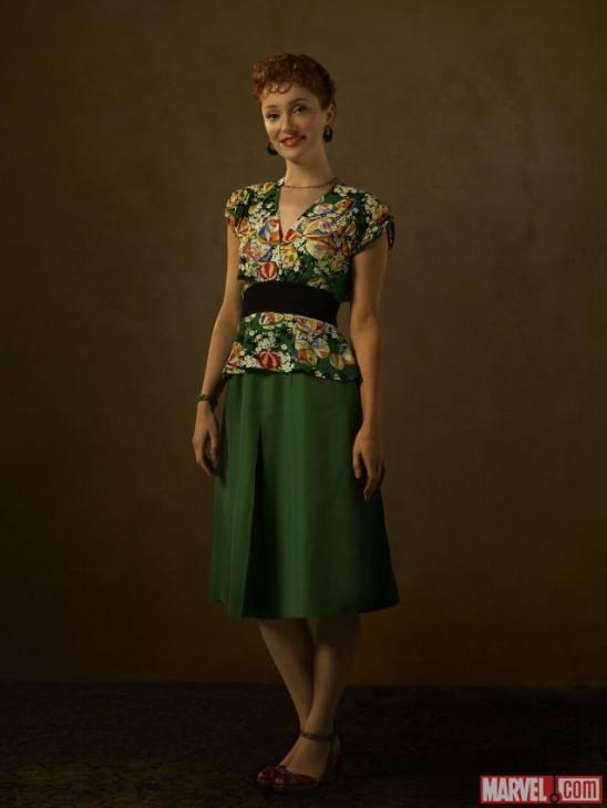 Lotte Verbeek no papel de Ana Jarvisin na série da Agente Carter
