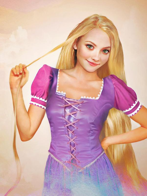 Rapunzel - Arte Realista - Disney