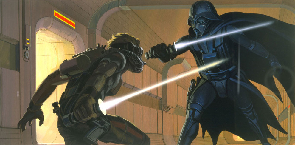 Star Wars - Concept Art de Combates 03