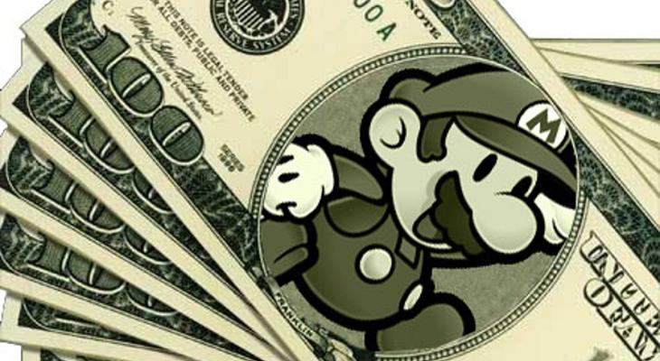 Super Mario - Impostos - Dinheiro Index