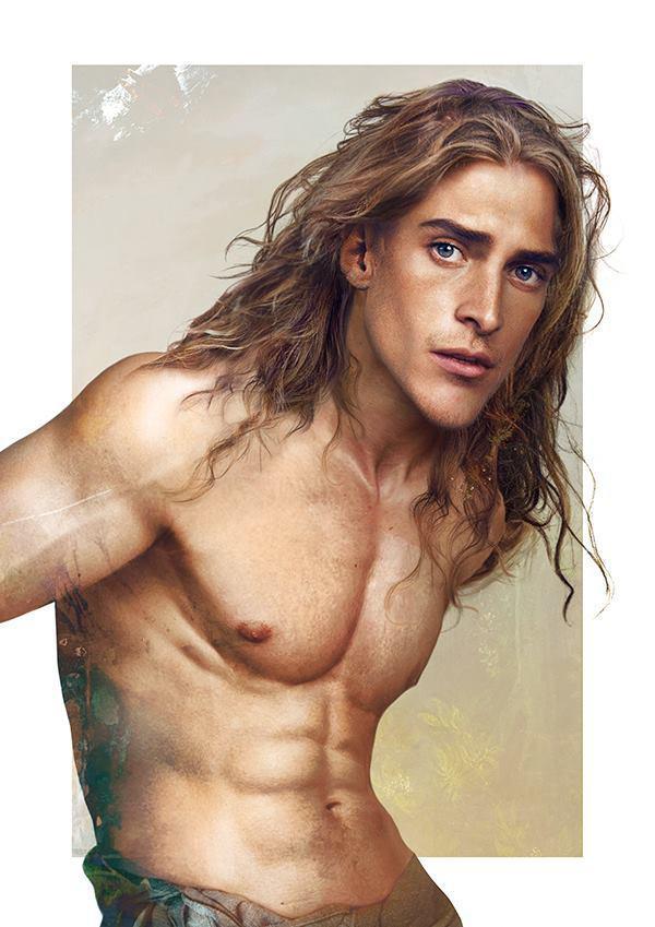 Tarzan - Arte Realista