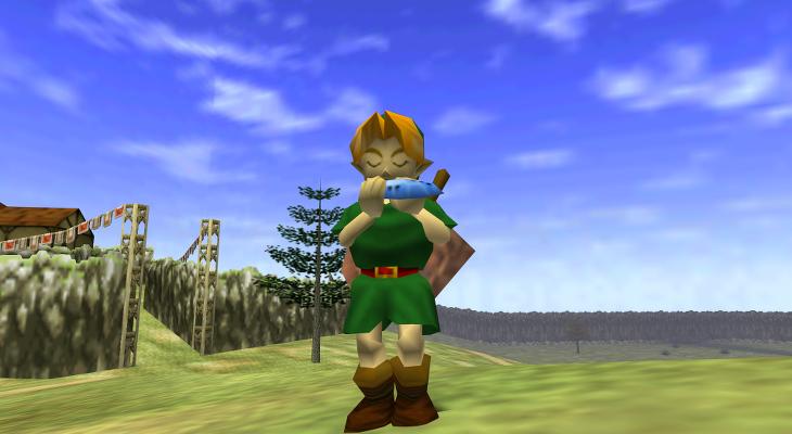 The Legend of Zelda - Ocarina of Time - Screen Index