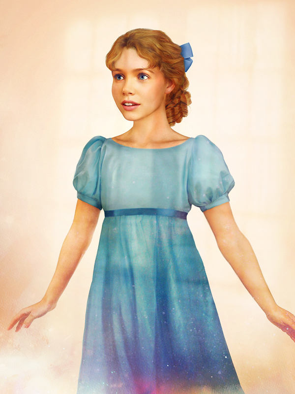 Wendy - Peter Pan - Arte Realista