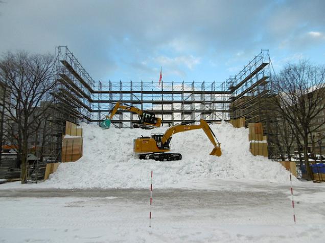 Escultura de Neve de Dragon Ball no Japão - 03