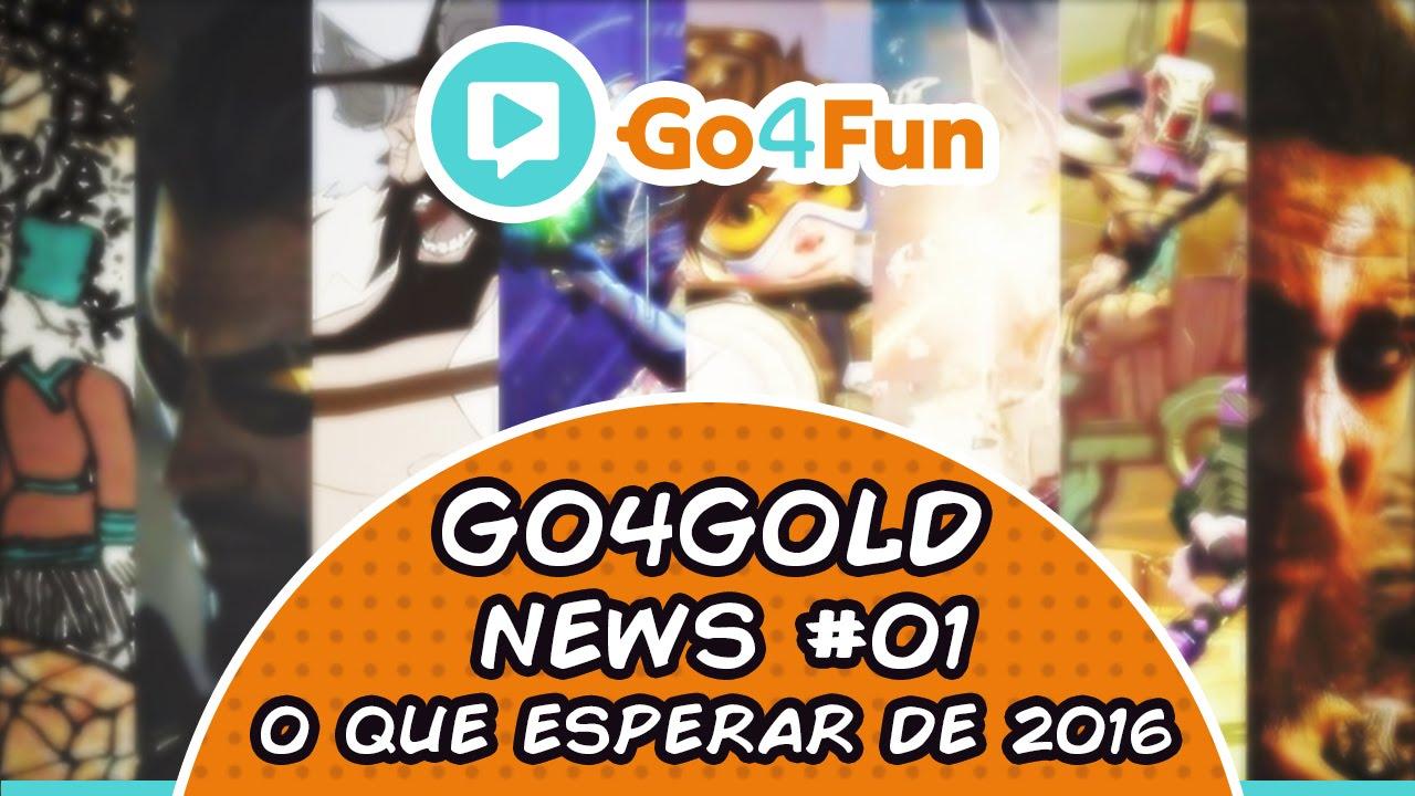 Go4Gold News 01 - O que esperar de 2016 - Imagem