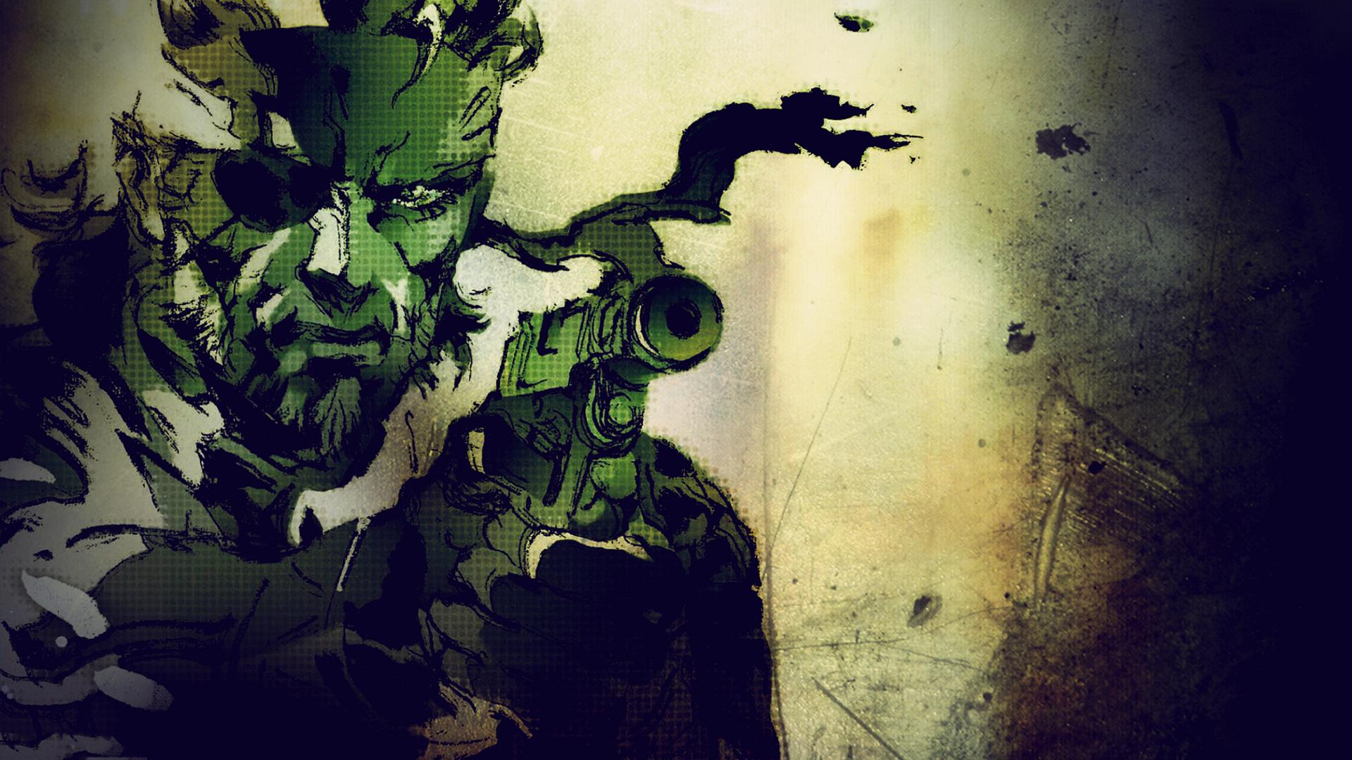 Metal Gear Solid 3 - Snake Eater - KeyArt