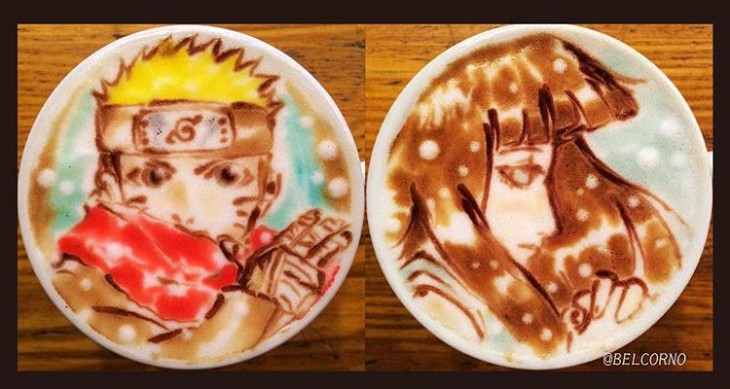 Naruto - Latte Art