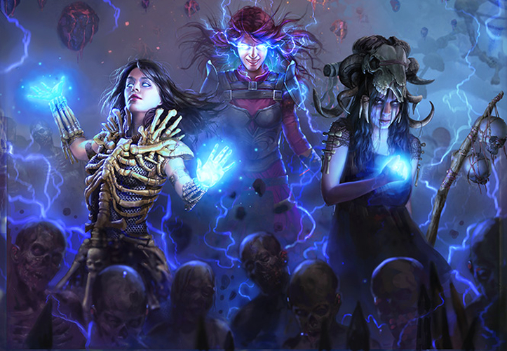 Path of Exile - Ascendancy - KeyArt Index