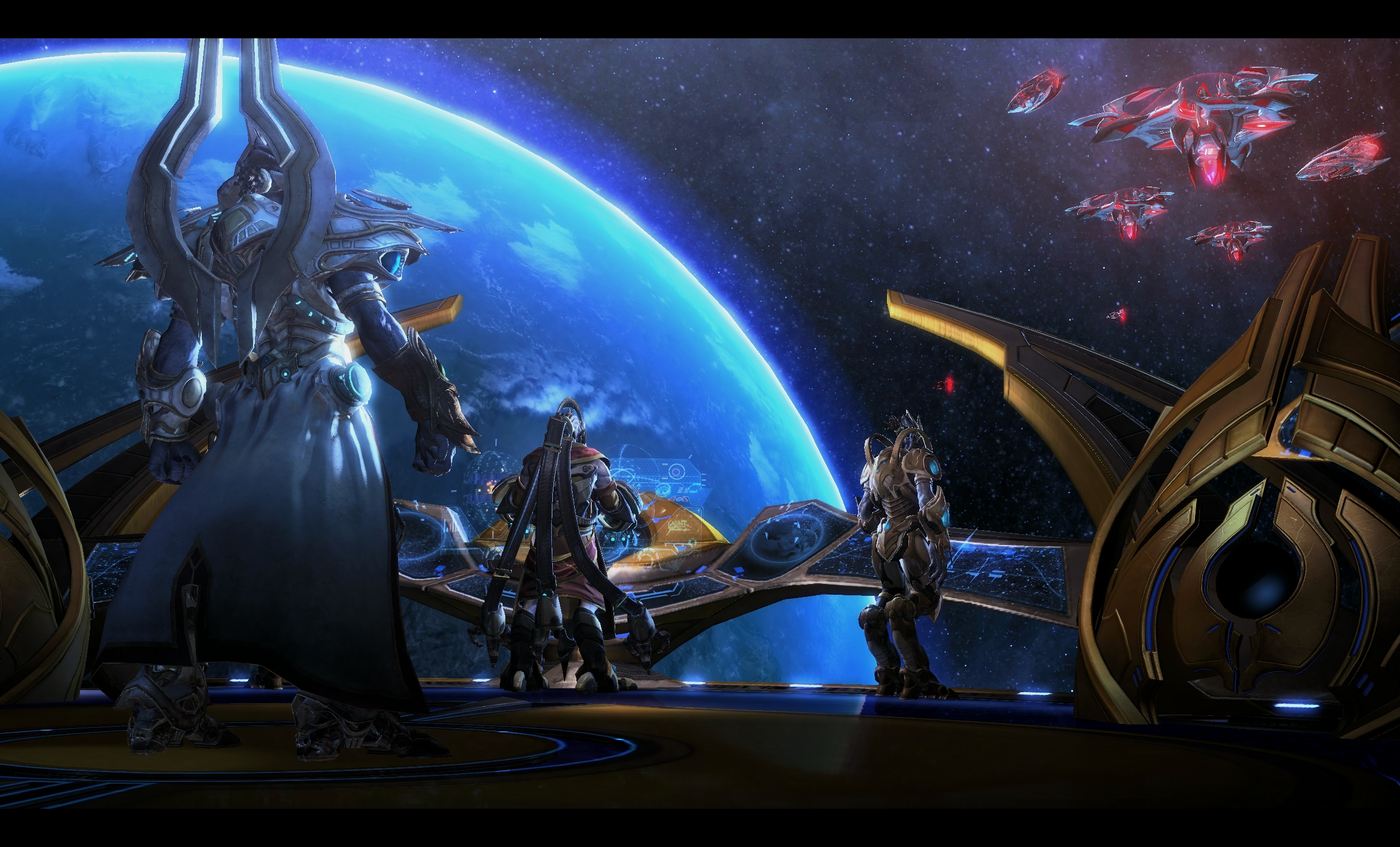 StarCraft II - Legacy of the Void - Space