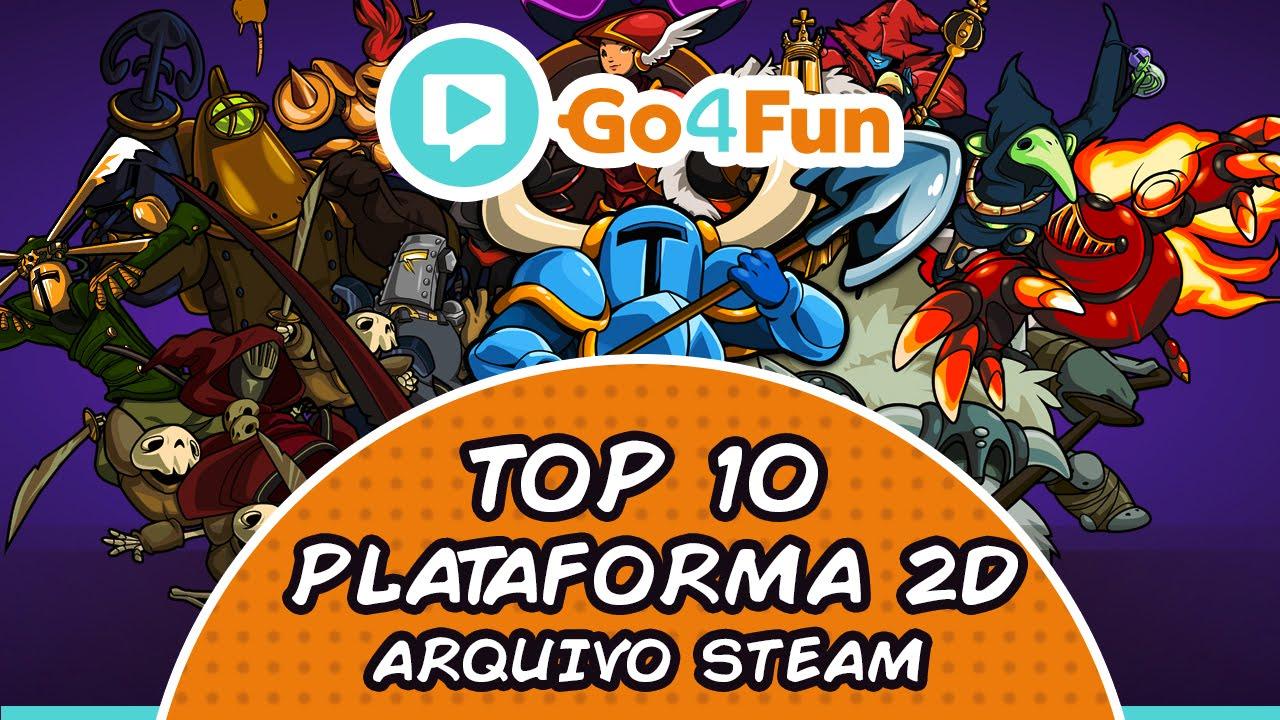 Top 10 Plataforma 2D - Imagem