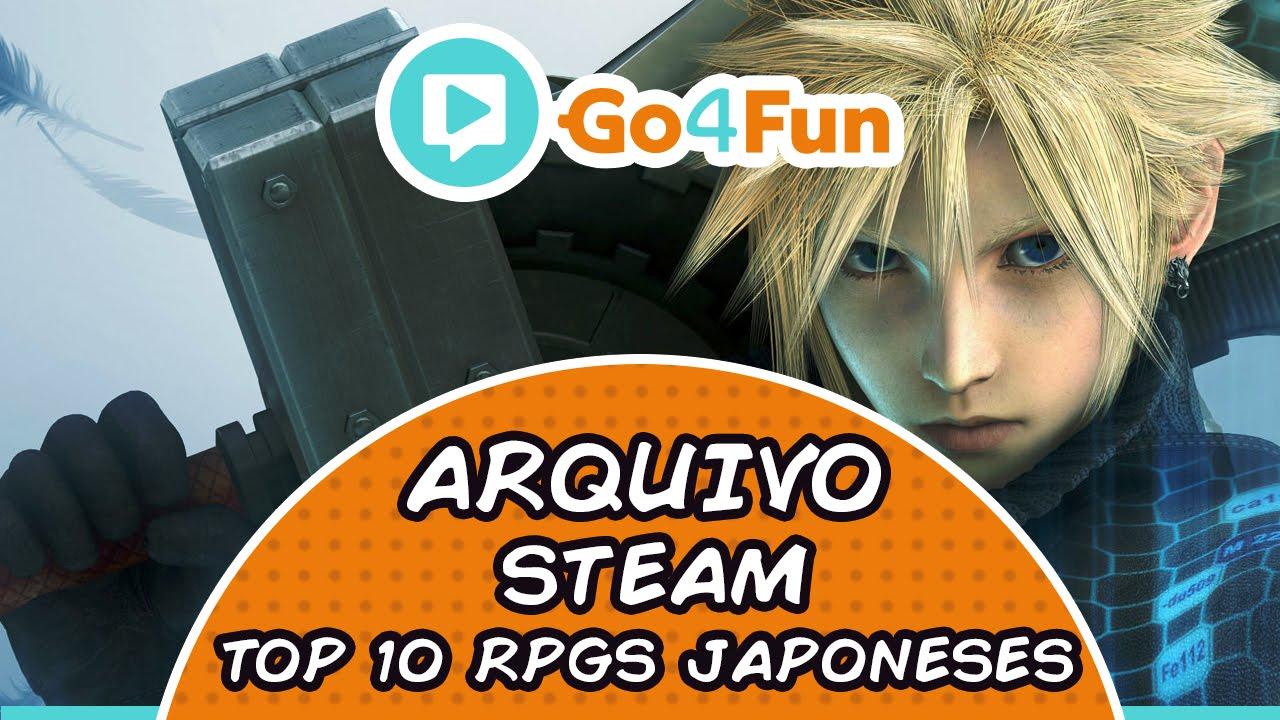 Top 10 RPGs Japoneses - Cloud - Imagem