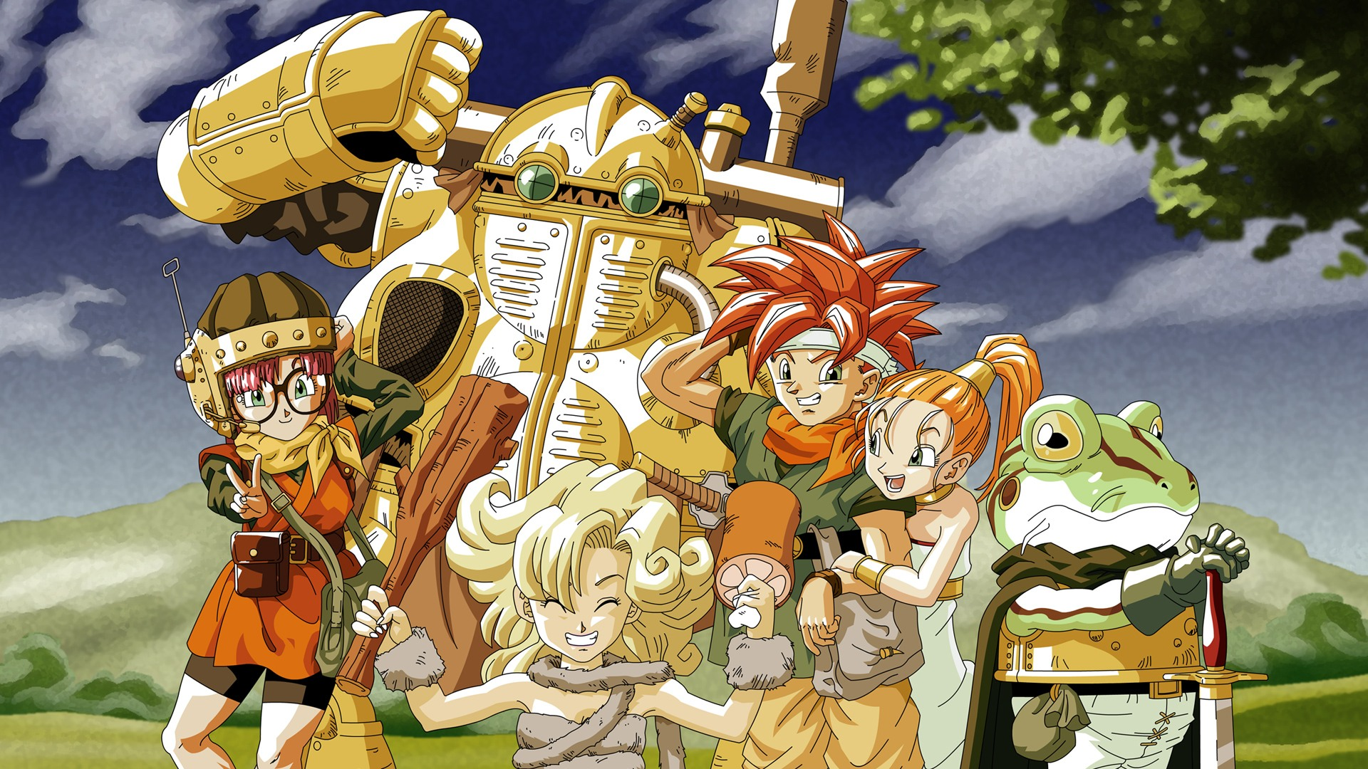 Chrono Trigger - KeyArt Screen
