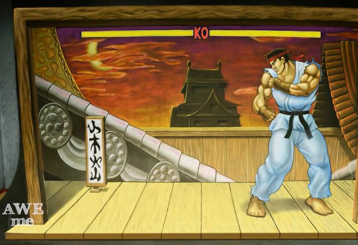 Ryu - Desenho 3D
