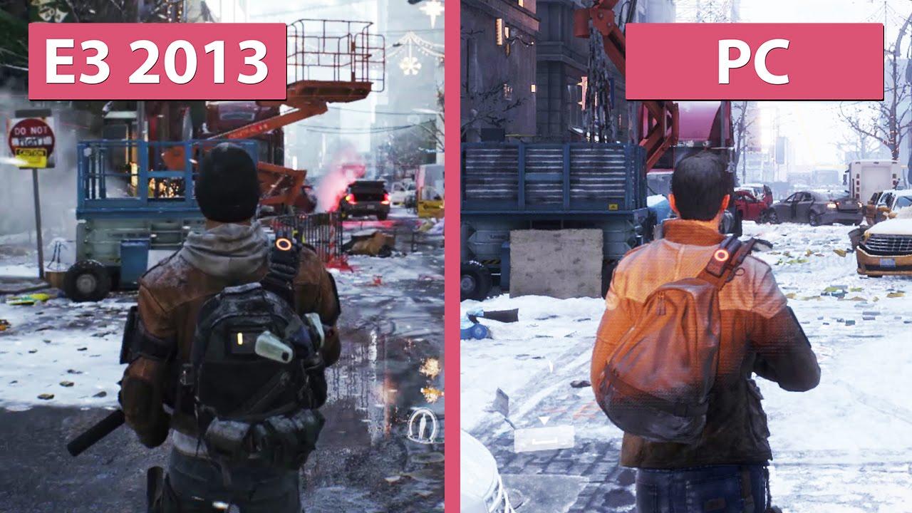 The Division - E3 2013 vs PC
