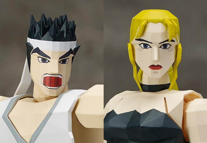 Virtua Fighter - Akira e Sarah Bryant Figures - Index