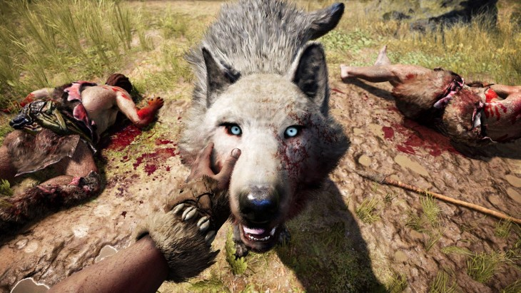 Far Cry Primal - Lobo Ajudante