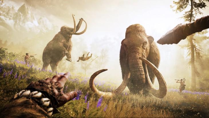 Far Cry Primal - Mamutes