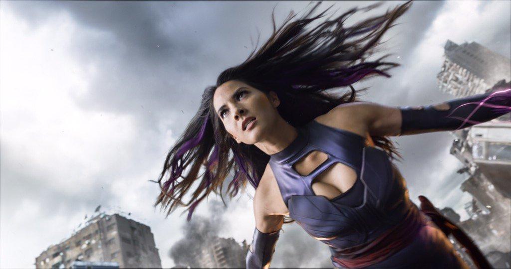 Olivia Munn - Psylocke - X-Men Apocalipse