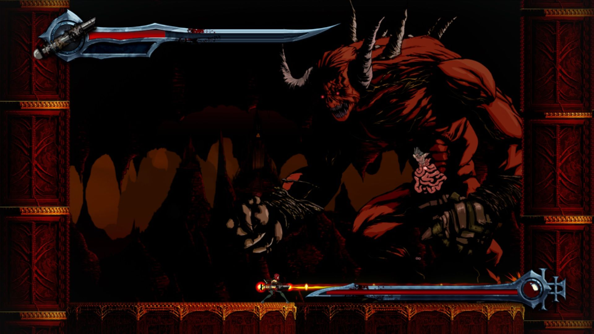827104-bloodrayne-betrayal-windows-screenshot-demon-boss