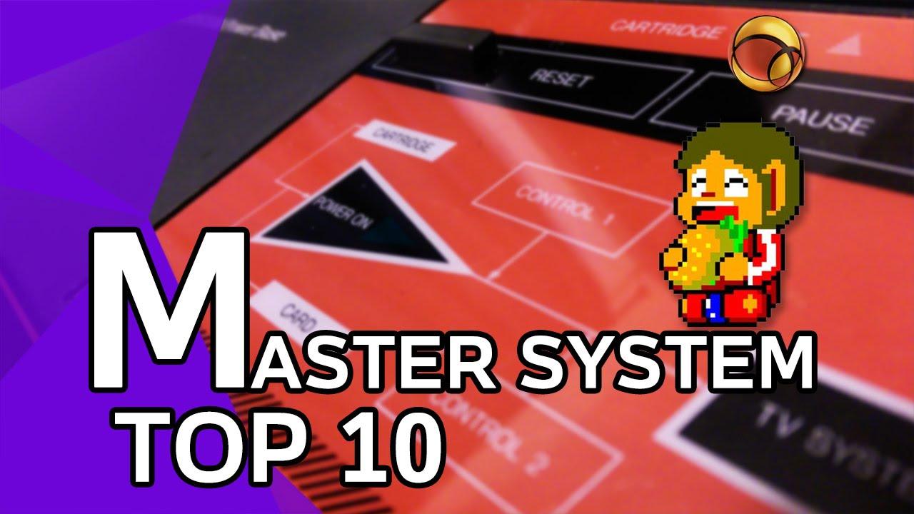 Master System - Top 10 - Imagem