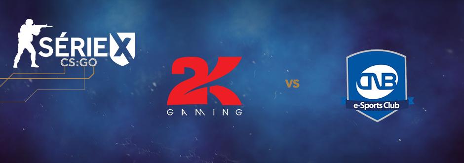 Série XLG CSGO - 2Kill vs CNB