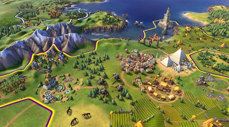 Civilization VI chega ao PS4 e Xbox One em novembro