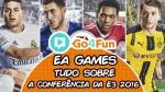 Go4Gold Drops E3 2016 – TUDO sobre a EA – FIFA 17, Titanfall 2, Battlefield 1 e mais