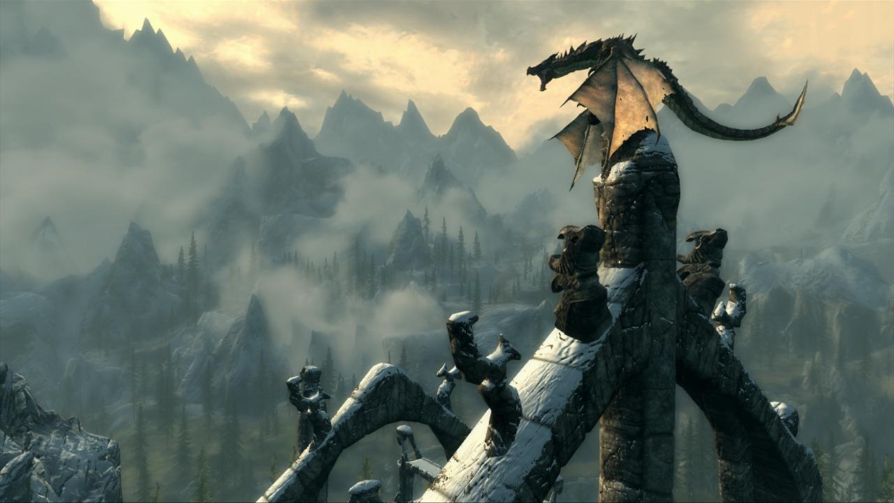 Skyrim - Dragon Screenshot