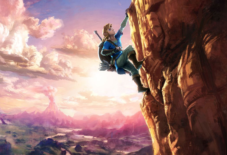 The Legend of Zelda - Breath of the Wild - KeyArt