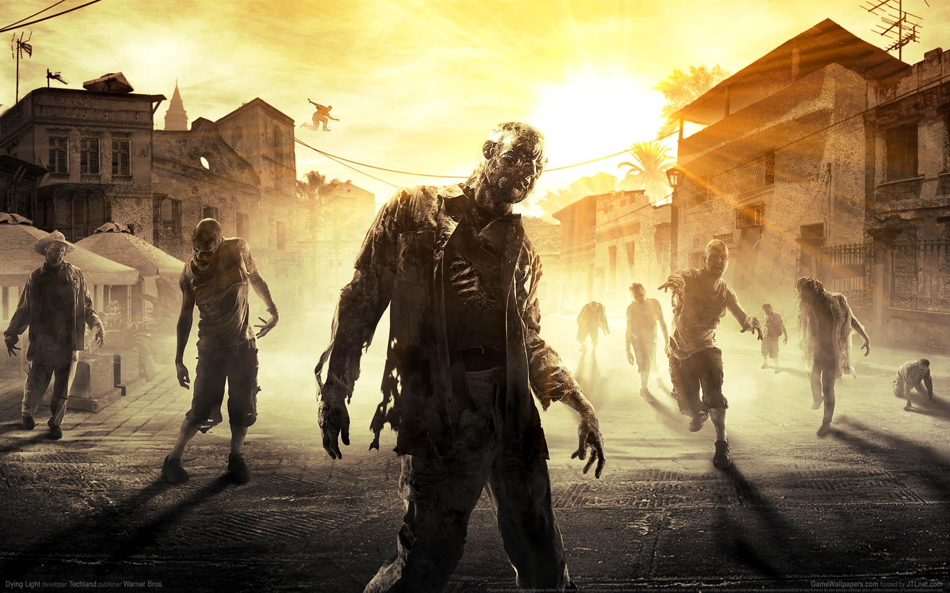 Dying Light - KeyArt Zombies