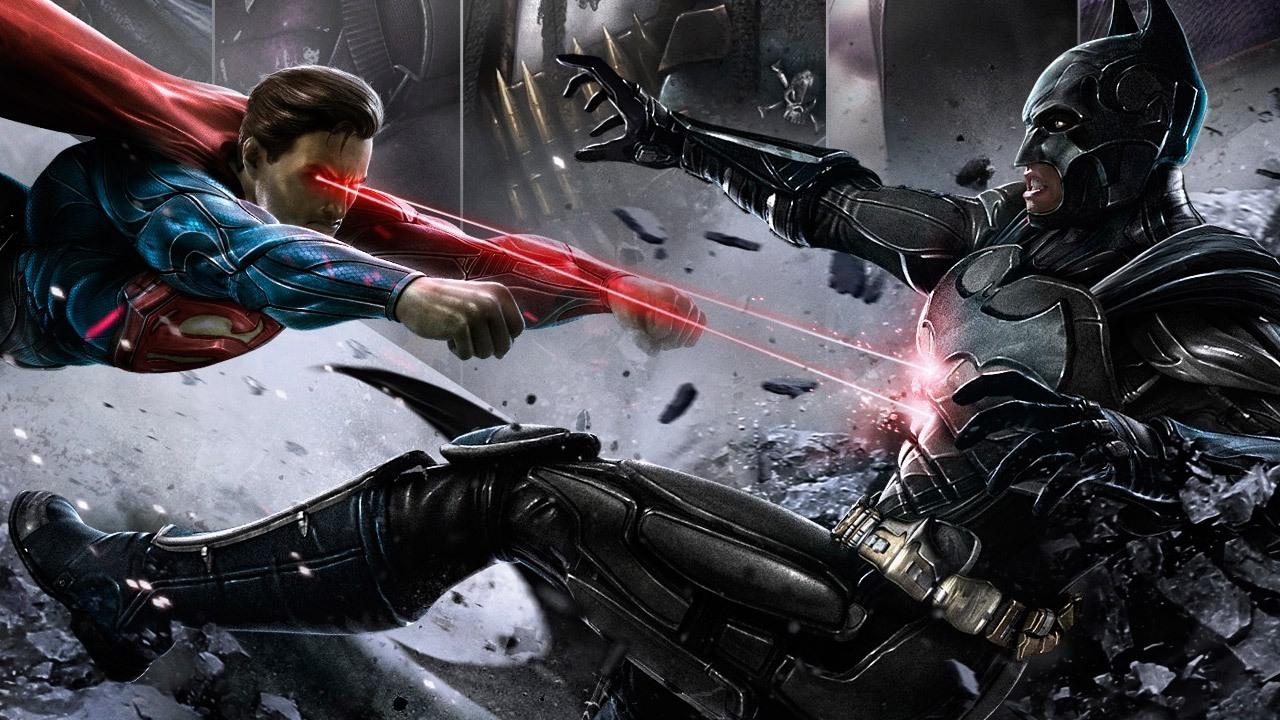 Injustice - Superman vs Batman - RenderArt