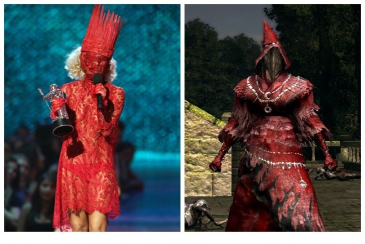 Lady Gaga - Crimson Set - Dark Souls