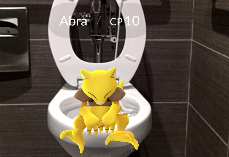 Pokémon Go - Abra Encontrado - Index