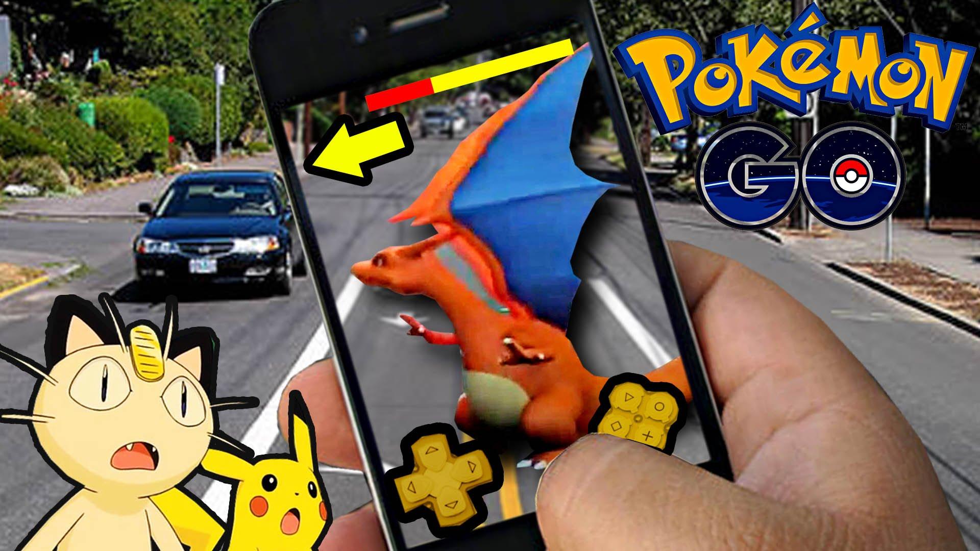 Pokémon Go - Capturando Charizard