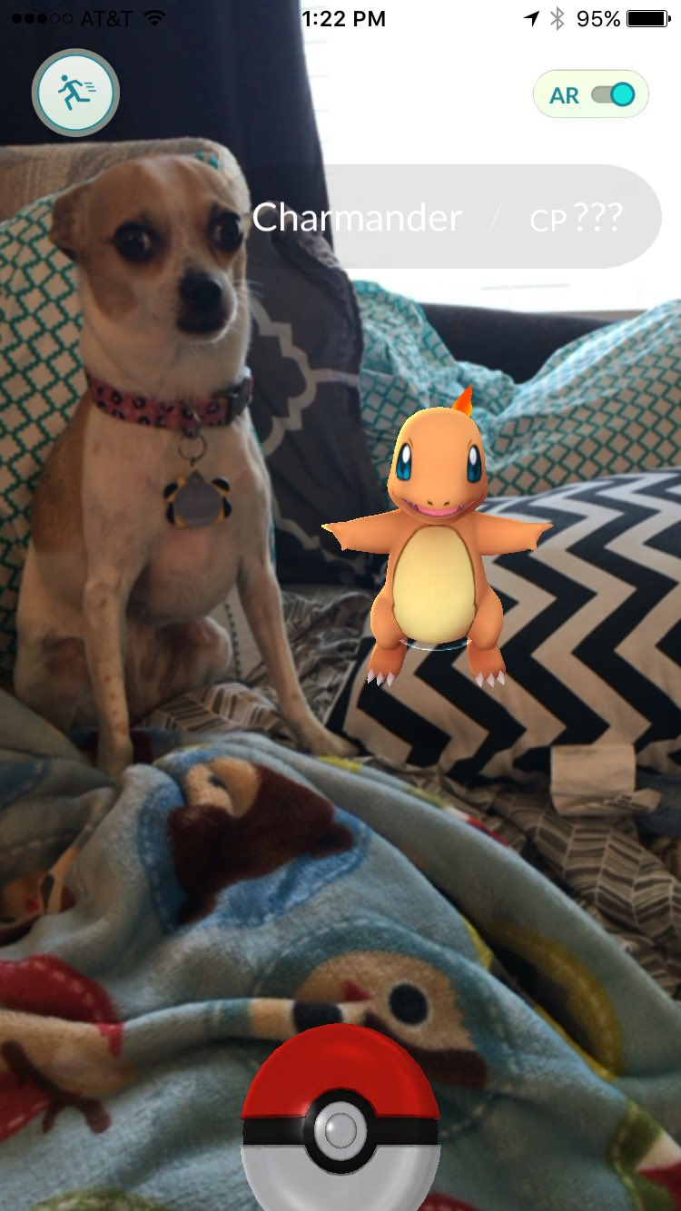 Pokémon Go Encontrado - Charmander