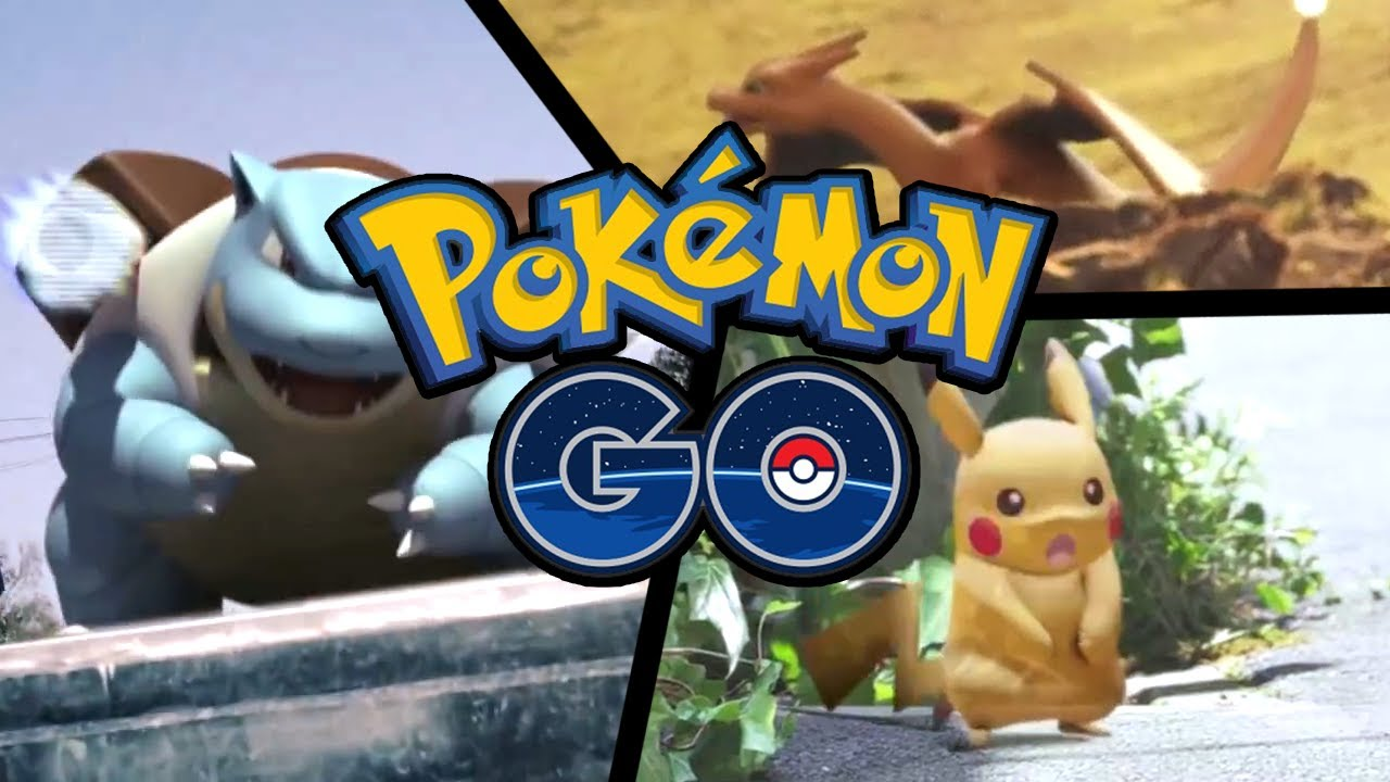 Pokemon Go - Header Pikachu e Charizard