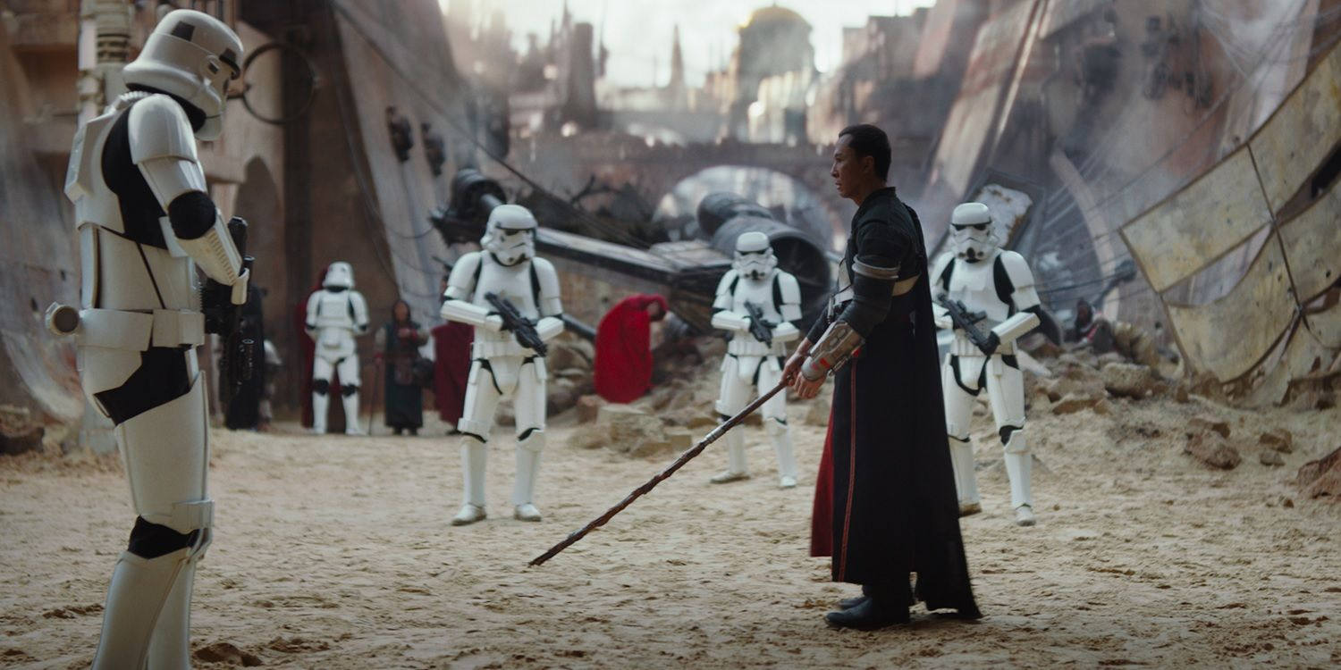Rogue One - Donnie Yen luta contra Stormtroopers no filme