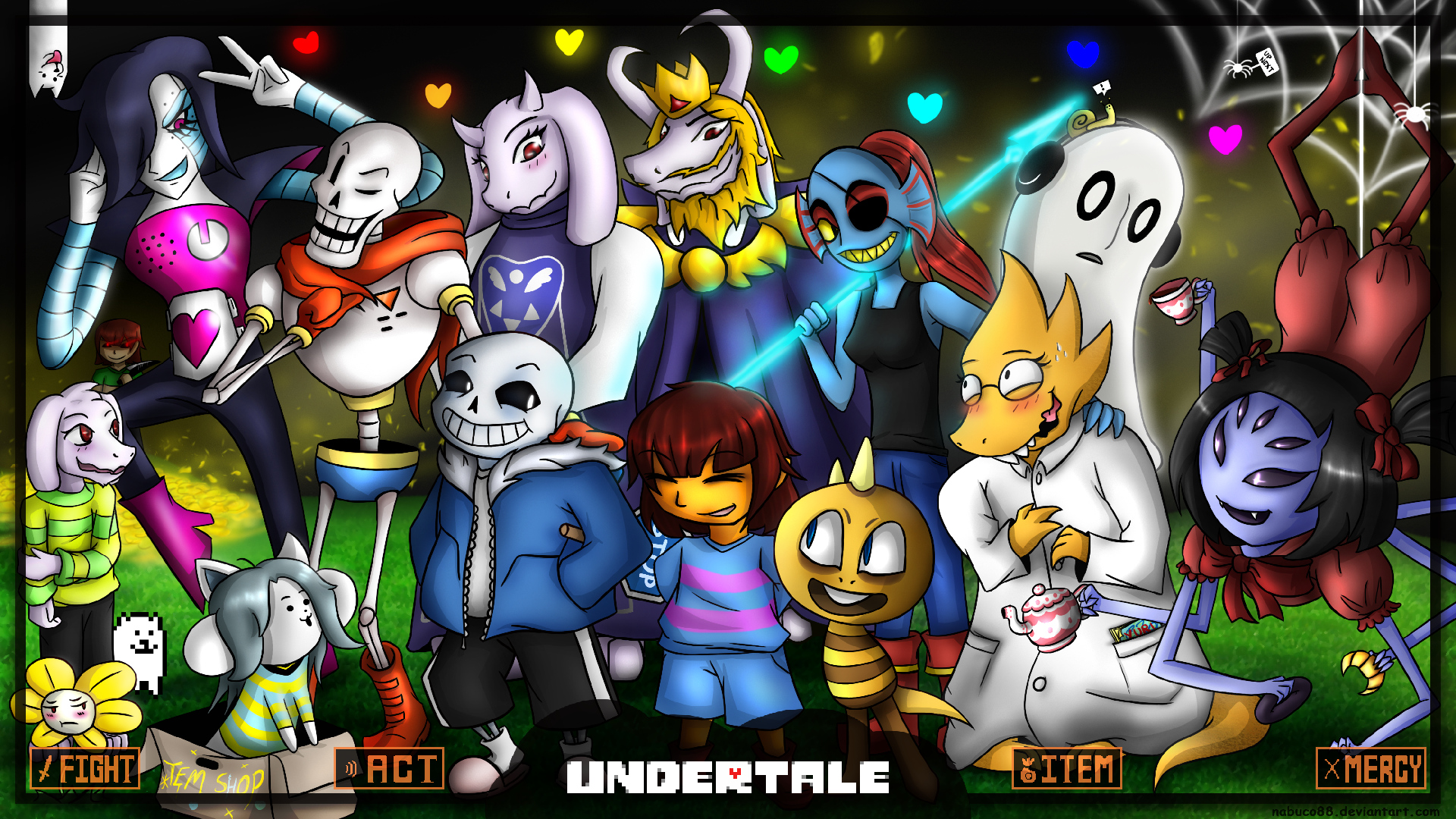 Undertale Wallpaper - Por Nabuco88