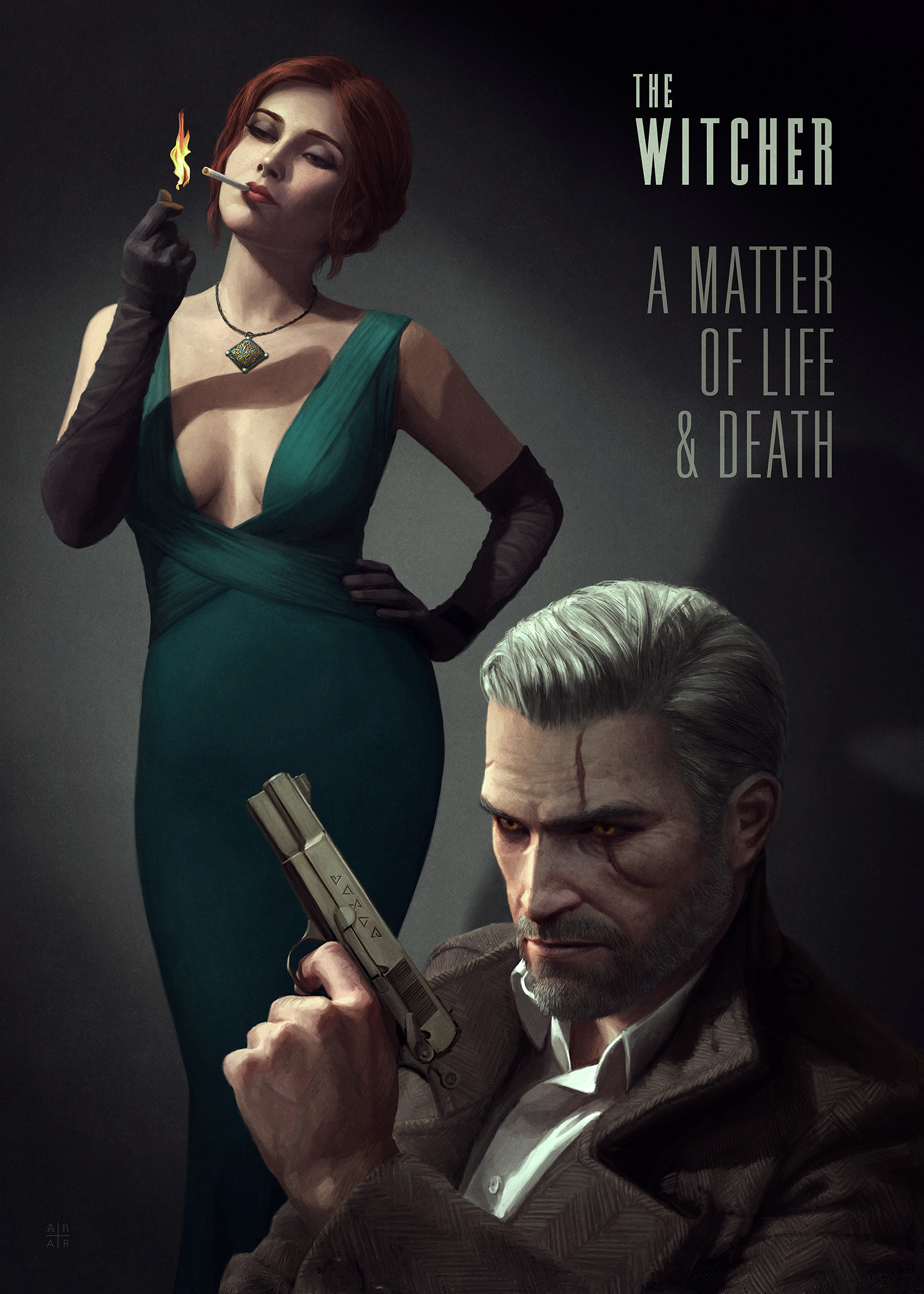 witcher-reimagined