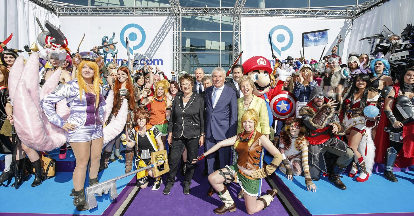 Cosplayers na Gamescom 2015 - Foto