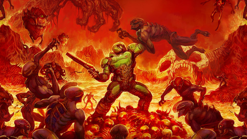 Demonstração de Doom - KeyArt Index